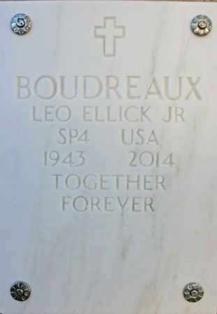 BOUDREAUX, LEO ELLICK, JR. - Yavapai County, Arizona | LEO ELLICK, JR. BOUDREAUX - Arizona Gravestone Photos