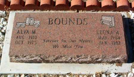 BOUNDS, LEONA A. - Yavapai County, Arizona | LEONA A. BOUNDS - Arizona Gravestone Photos