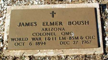 BOUSH, JAMES ELMER - Yavapai County, Arizona | JAMES ELMER BOUSH - Arizona Gravestone Photos