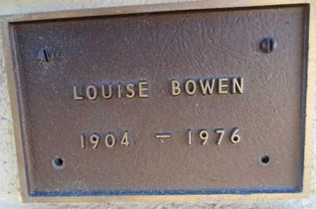 NEVIN BOWEN, LOUISE - Yavapai County, Arizona | LOUISE NEVIN BOWEN - Arizona Gravestone Photos