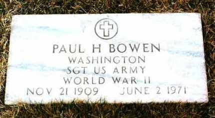 BOWEN, PAUL HOWARD - Yavapai County, Arizona   PAUL HOWARD BOWEN - Arizona Gravestone Photos