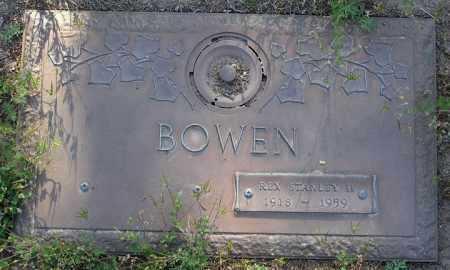 BOWEN, REX STANLEY II - Yavapai County, Arizona | REX STANLEY II BOWEN - Arizona Gravestone Photos