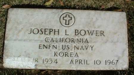BOWER, JOSEPH L. - Yavapai County, Arizona | JOSEPH L. BOWER - Arizona Gravestone Photos
