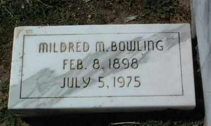BOWLING, MILDRED MAY - Yavapai County, Arizona | MILDRED MAY BOWLING - Arizona Gravestone Photos
