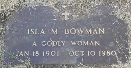 BOWMAN, ISLA MAE - Yavapai County, Arizona | ISLA MAE BOWMAN - Arizona Gravestone Photos