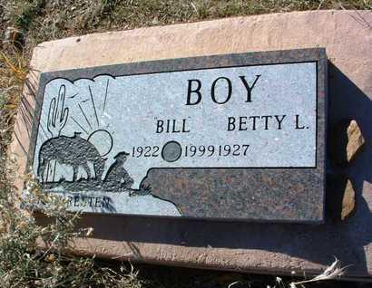 BOY, LLOYD WILLLIAM (BILL) - Yavapai County, Arizona | LLOYD WILLLIAM (BILL) BOY - Arizona Gravestone Photos