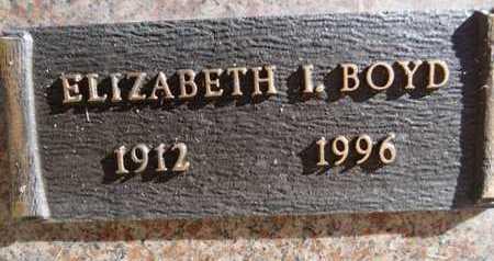BARSHAW BOYD, ELIZABETH - Yavapai County, Arizona | ELIZABETH BARSHAW BOYD - Arizona Gravestone Photos