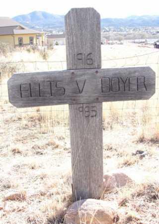 BOYER, ELLIS VICTOR - Yavapai County, Arizona | ELLIS VICTOR BOYER - Arizona Gravestone Photos