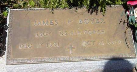 BOYER, JAMES F. - Yavapai County, Arizona | JAMES F. BOYER - Arizona Gravestone Photos