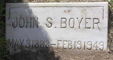 BOYER, JOHN S. - Yavapai County, Arizona | JOHN S. BOYER - Arizona Gravestone Photos