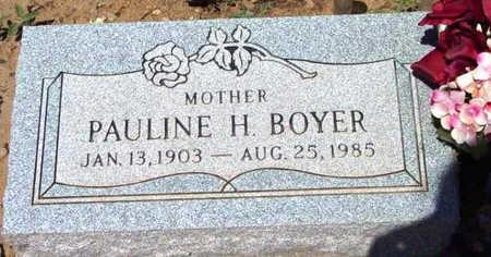 GODAC BOYER, PAULINE H. - Yavapai County, Arizona | PAULINE H. GODAC BOYER - Arizona Gravestone Photos