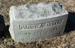 BOYER, PARIS A. - Yavapai County, Arizona | PARIS A. BOYER - Arizona Gravestone Photos