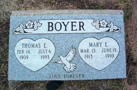 BOYER, MARY ELLEN - Yavapai County, Arizona | MARY ELLEN BOYER - Arizona Gravestone Photos