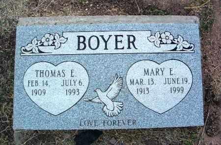 BYBEE BOYER, MARY ELLEN - Yavapai County, Arizona   MARY ELLEN BYBEE BOYER - Arizona Gravestone Photos