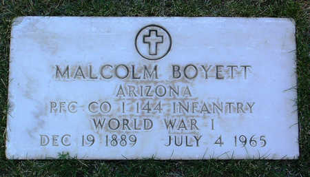 BOYETT, MALCOLM - Yavapai County, Arizona | MALCOLM BOYETT - Arizona Gravestone Photos