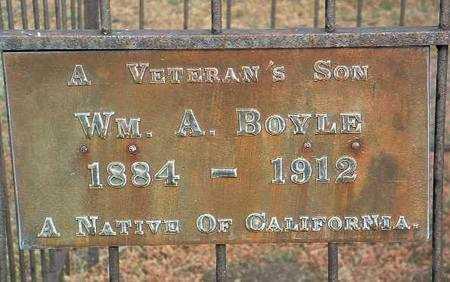 BOYLE, WM. ANDREW - Yavapai County, Arizona   WM. ANDREW BOYLE - Arizona Gravestone Photos