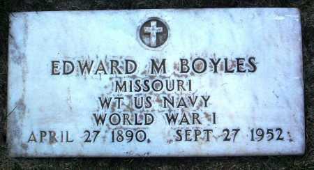 BOYLES, EDWARD M. - Yavapai County, Arizona | EDWARD M. BOYLES - Arizona Gravestone Photos