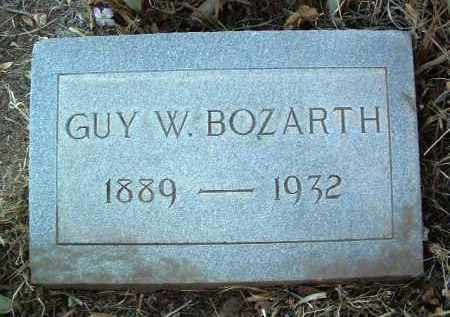 BOZARTH, GUY WESLEY - Yavapai County, Arizona | GUY WESLEY BOZARTH - Arizona Gravestone Photos