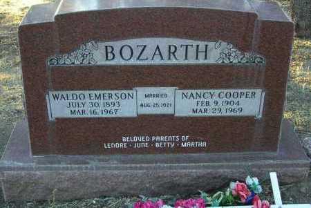 COOPER BOZARTH, NANCY - Yavapai County, Arizona | NANCY COOPER BOZARTH - Arizona Gravestone Photos