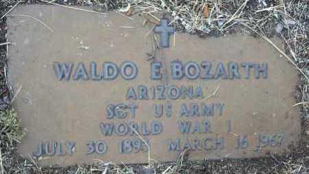 BOZARTH, WALDO EMERSON - Yavapai County, Arizona | WALDO EMERSON BOZARTH - Arizona Gravestone Photos