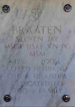BRAATEN, STEVEN JAY - Yavapai County, Arizona   STEVEN JAY BRAATEN - Arizona Gravestone Photos