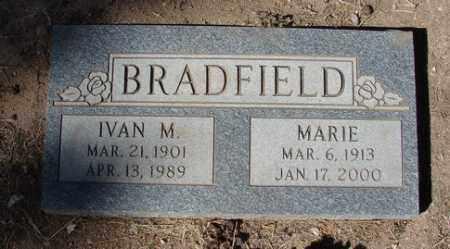 BRADFIELD, IVAN M. - Yavapai County, Arizona | IVAN M. BRADFIELD - Arizona Gravestone Photos