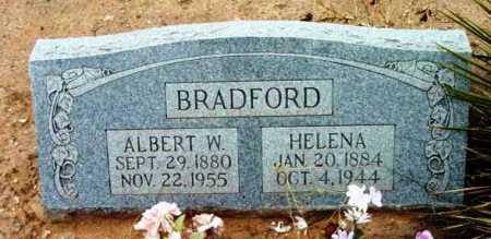 BRADFORD, ALBERT WILLIAM - Yavapai County, Arizona | ALBERT WILLIAM BRADFORD - Arizona Gravestone Photos