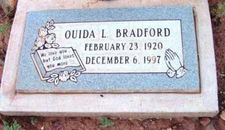BRADFORD, QUIDA L. - Yavapai County, Arizona | QUIDA L. BRADFORD - Arizona Gravestone Photos