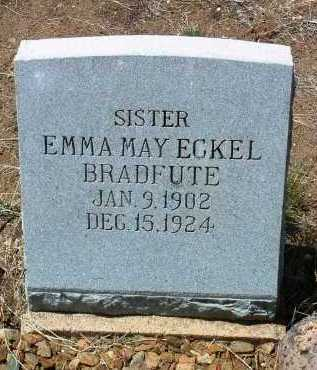 BRADFUTE, EMMA MAY - Yavapai County, Arizona | EMMA MAY BRADFUTE - Arizona Gravestone Photos