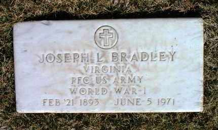 BRADLEY, JOSEPH LIONEL - Yavapai County, Arizona | JOSEPH LIONEL BRADLEY - Arizona Gravestone Photos