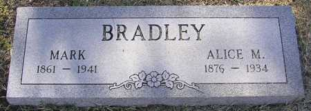 BRADLEY, ALICE M. - Yavapai County, Arizona | ALICE M. BRADLEY - Arizona Gravestone Photos