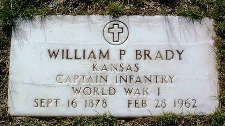 BRADY, WILLIAM P. - Yavapai County, Arizona | WILLIAM P. BRADY - Arizona Gravestone Photos