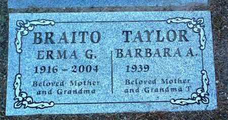 BRAITO, EMMA GRACE - Yavapai County, Arizona | EMMA GRACE BRAITO - Arizona Gravestone Photos