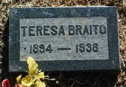 ALBINE BRAITO, TERESA - Yavapai County, Arizona | TERESA ALBINE BRAITO - Arizona Gravestone Photos