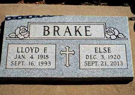 BRAKE, ELSE - Yavapai County, Arizona | ELSE BRAKE - Arizona Gravestone Photos