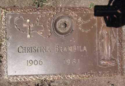 BRAMBILA, CHRISTINA - Yavapai County, Arizona   CHRISTINA BRAMBILA - Arizona Gravestone Photos