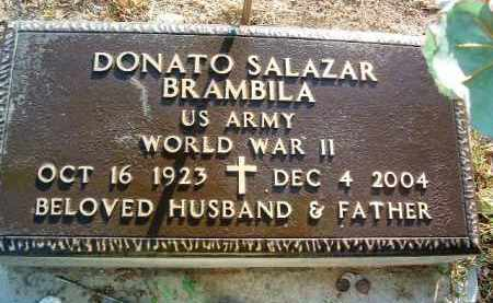 BRAMBILA, DONATO SALAZAR - Yavapai County, Arizona | DONATO SALAZAR BRAMBILA - Arizona Gravestone Photos