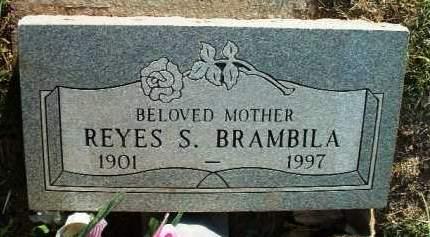 BRAMBILA, REYES S. - Yavapai County, Arizona | REYES S. BRAMBILA - Arizona Gravestone Photos