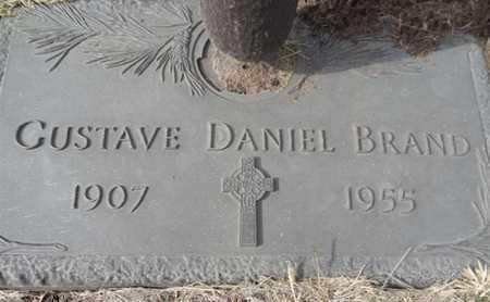 BRAND, GUSTAVE DANIEL - Yavapai County, Arizona | GUSTAVE DANIEL BRAND - Arizona Gravestone Photos