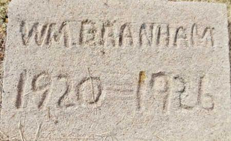 BRANHAM, JOHN WILLIAM - Yavapai County, Arizona | JOHN WILLIAM BRANHAM - Arizona Gravestone Photos