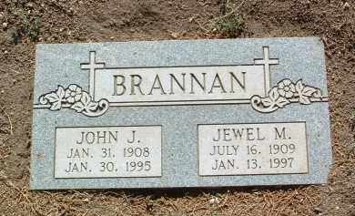 BRANNAN, JOHN JOSEPH - Yavapai County, Arizona | JOHN JOSEPH BRANNAN - Arizona Gravestone Photos