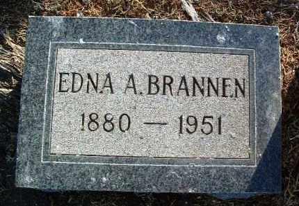 BRANNEN, EDNA ALICE - Yavapai County, Arizona | EDNA ALICE BRANNEN - Arizona Gravestone Photos