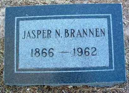 BRANNEN, JASPER NEWTON - Yavapai County, Arizona | JASPER NEWTON BRANNEN - Arizona Gravestone Photos