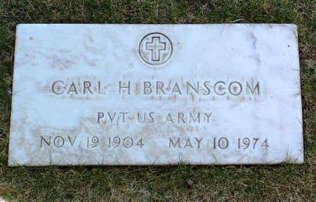 BRANSCOM, CARL H. - Yavapai County, Arizona   CARL H. BRANSCOM - Arizona Gravestone Photos