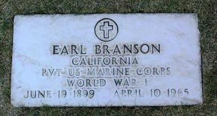 BRANSON, EARL - Yavapai County, Arizona | EARL BRANSON - Arizona Gravestone Photos