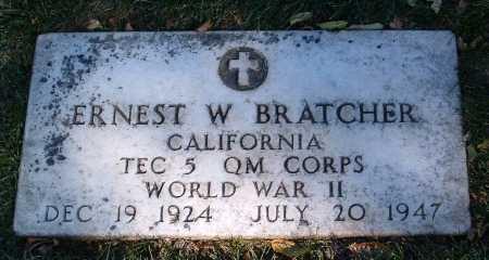 BRATCHER, ERNEST WELDON - Yavapai County, Arizona | ERNEST WELDON BRATCHER - Arizona Gravestone Photos