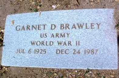 BRAWLEY, GARNET DWAYNE - Yavapai County, Arizona | GARNET DWAYNE BRAWLEY - Arizona Gravestone Photos
