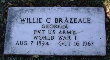 BRAZEALE, WILLIE C. - Yavapai County, Arizona | WILLIE C. BRAZEALE - Arizona Gravestone Photos