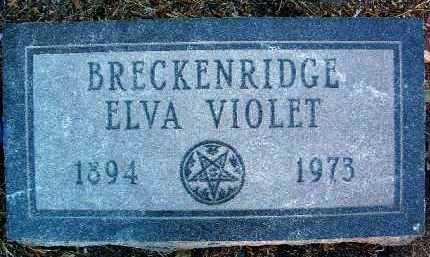 BURLESON, ELVA VIOLET - Yavapai County, Arizona | ELVA VIOLET BURLESON - Arizona Gravestone Photos