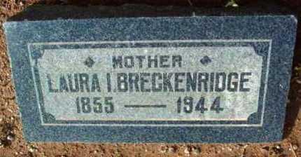 BRECKENRIDGE, LAURA I. - Yavapai County, Arizona | LAURA I. BRECKENRIDGE - Arizona Gravestone Photos